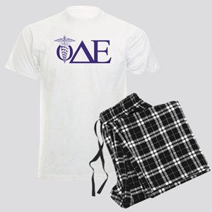 Phi Delta Epsilon Letters Men's Light Pajamas