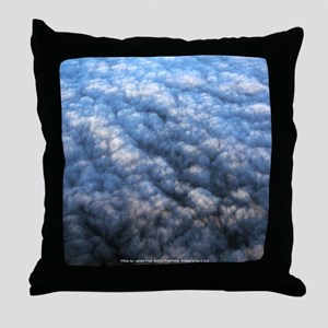 Blanket Clouds Throw Pillow