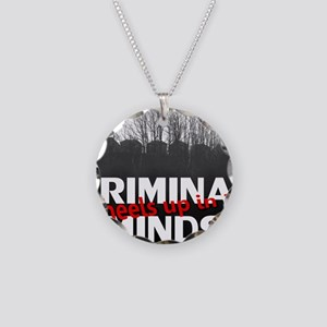 Criminal Minds Up In 30 Necklace Circle Charm