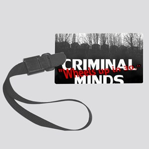 Criminal Minds Up In 30 Large Luggage Tag