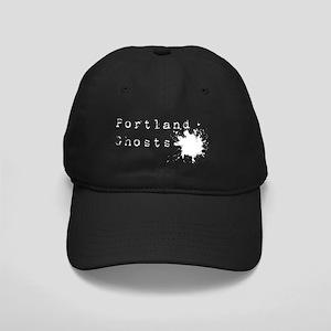 Splat logo white XL Black Cap