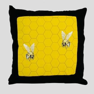 FLIP FLOPS Honey Bee523_H_F Throw Pillow