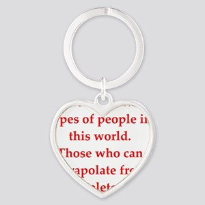 people Heart Keychain