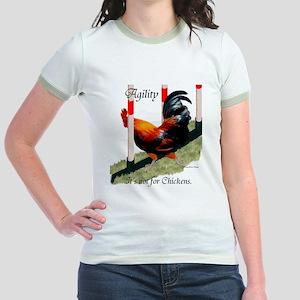NOT for Chickens! Jr. Ringer T-Shirt