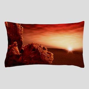 Martian sunrise Pillow Case