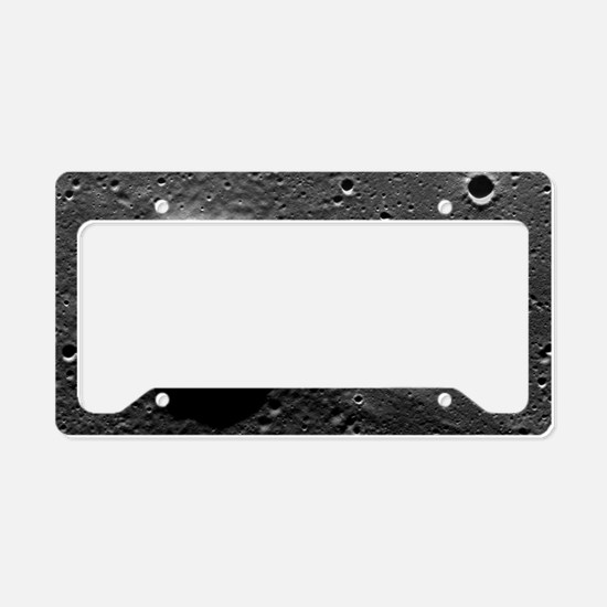 Lunar crater, Apollo 17 photo License Plate Holder