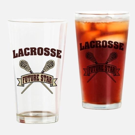 Lacrosse Future Star Drinking Glass