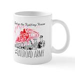 The Railroad Army Mug