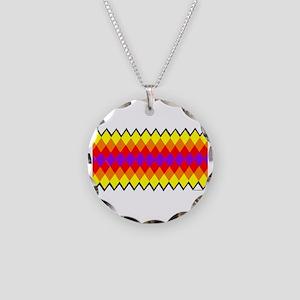 SEMINOLE PATCHWORK Necklace Circle Charm