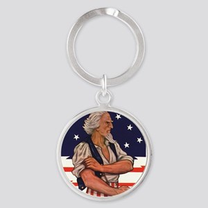 You can keep, Ill take Round Keychain