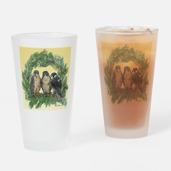 Three FLedglings Ext Bkg Drinking Glass