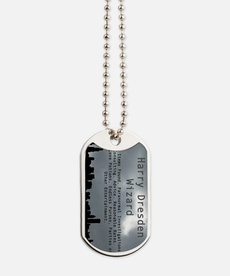 Harry Dresden Business Card Dog Tags