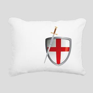 Henry V - Cry God for Ha Rectangular Canvas Pillow