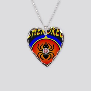 CHEROKEE WATER SPIDER Necklace Heart Charm