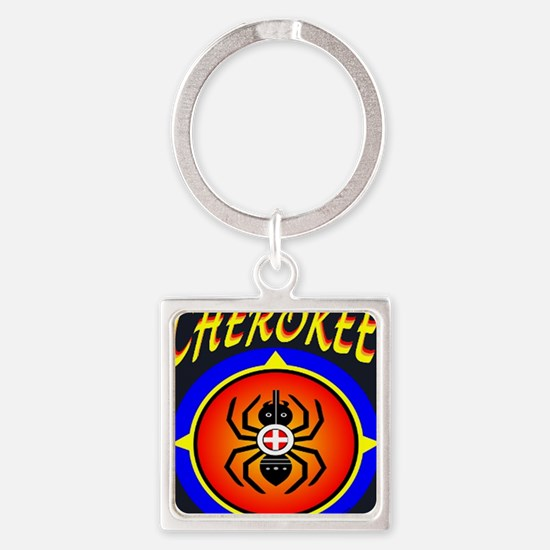 CHEROKEE WATER SPIDER Square Keychain