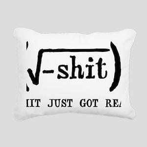REAL Rectangular Canvas Pillow