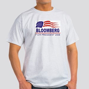 Michael Bloomberg 2008 (wave) Light T-Shirt
