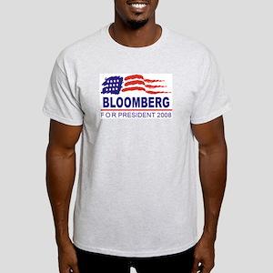 Michael Bloomberg 2008 (wave) Light T-Shirt