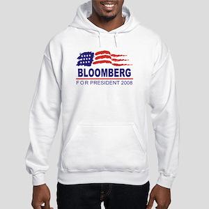 Michael Bloomberg 2008 (wave) Hooded Sweatshirt