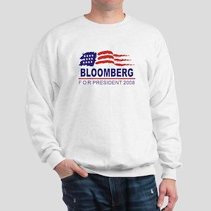 Michael Bloomberg 2008 (wave) Sweatshirt