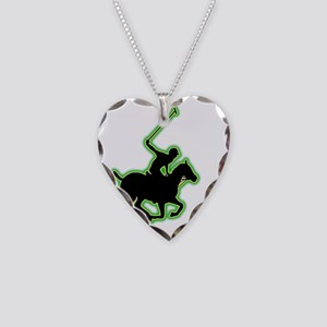 Polo-AC Necklace Heart Charm