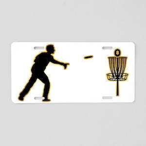 Disk-Golf-AD Aluminum License Plate