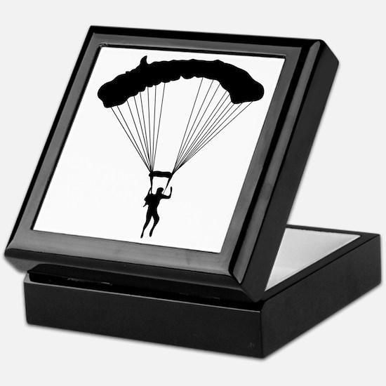 Parachuting-AA Keepsake Box