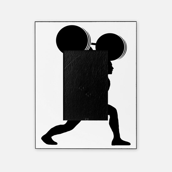 Weightlifting-AA Picture Frame