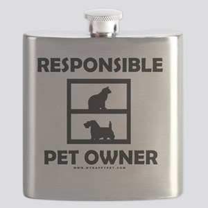 Responsible Pet Owner - New Flask