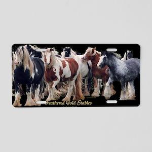 Price herd mug wrap Aluminum License Plate