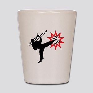 Karate and Music together in one image! Shot Glass