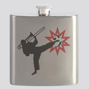 Karate and Music together in one image! Flask