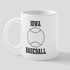 Iowa Baseball Mug