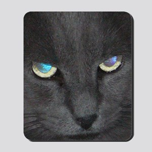 Unique Cat w/ Cool Eyes Mousepad