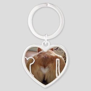 Corgi Love Heart Keychain