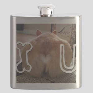 Corgi Love Flask