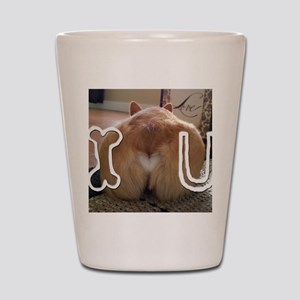 Corgi Love Shot Glass