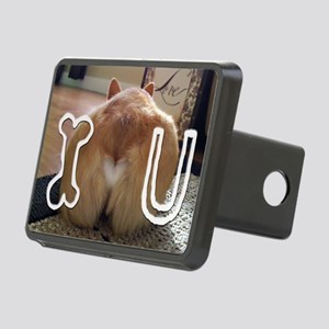Corgi Love Rectangular Hitch Cover