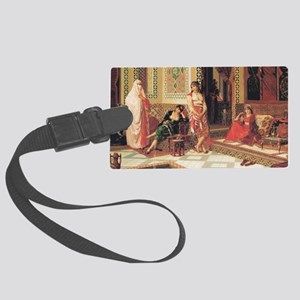 In The Harem Large Luggage Tag