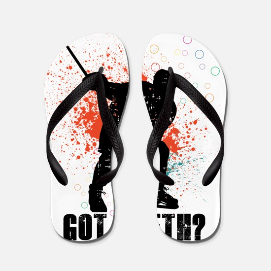 Got teeth? Flip Flops