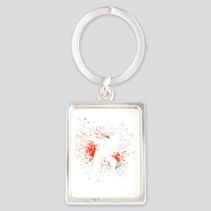 Got teeth? Portrait Keychain
