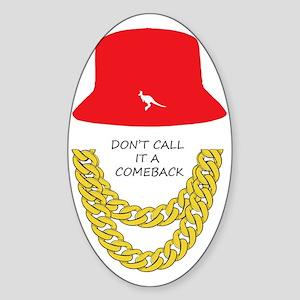 Don't Call It A Comeback Sticker (Oval)