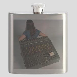 Heathkit H-1 analog computer Flask