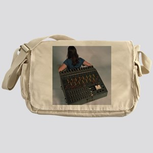 Heathkit H-1 analog computer Messenger Bag