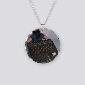 Heathkit H-1 analog computer Necklace Circle Charm