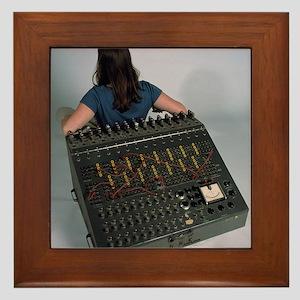 Heathkit H-1 analog computer Framed Tile