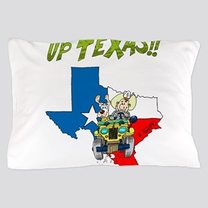 Willys jeep CJ2A at Texas Pillow Case