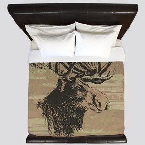 Big Moose King Duvet