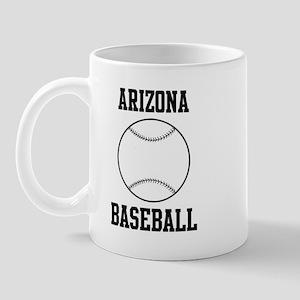 Arizona Baseball Mug