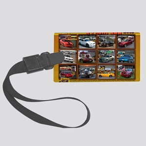 COVER-stampede Large Luggage Tag